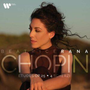 Chopin: Études Op. 25; 4 Scherzi (Vinyl) - Beatrice Rana