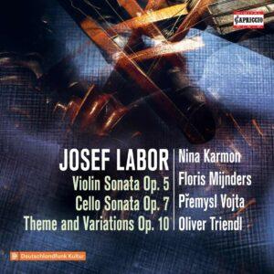 Josef Labor: Violin Sonata Op. 5, Cello Sonata Op. 7 - Nina Karmon