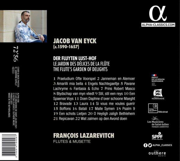 Jacob Van Eyck: Der Fluyten Lust-Hof - François Lazarevitch