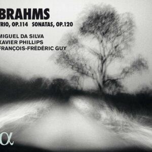 Brahms: Trio Op. 114 & Sonatas For Viola  Op. 120 - François-Frédéric Guy