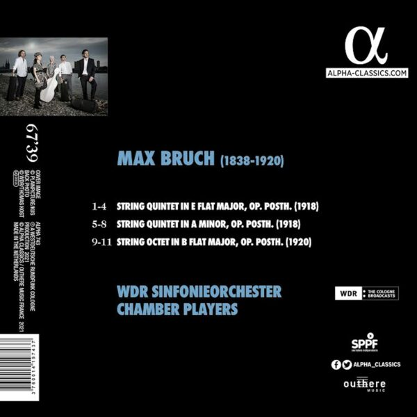 Bruch: String Quintets & Octet - WDR Sinfonieorchester Chamber Players