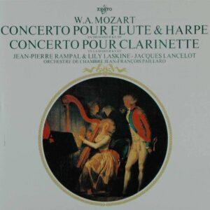 Mozart: Flute & Harp Concerto KV299 - Jean-François Paillard