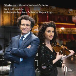 Tchaikovsky: Works for Violin and Orchestra - Saténik Khourdoïan