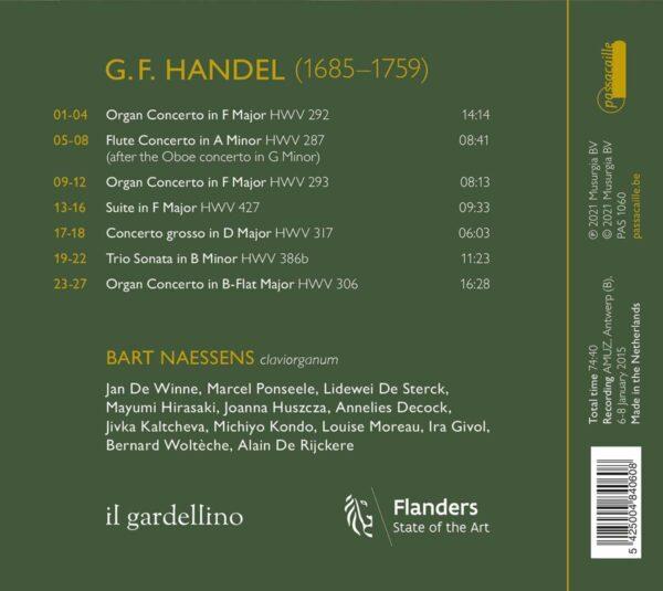 Handel: Claviorganum, Concertos & Sonatas - Il Gardellino