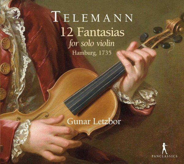 Georg Philipp Telemann: 12 Fantasias For Solo Violin - Gunar Letzbor