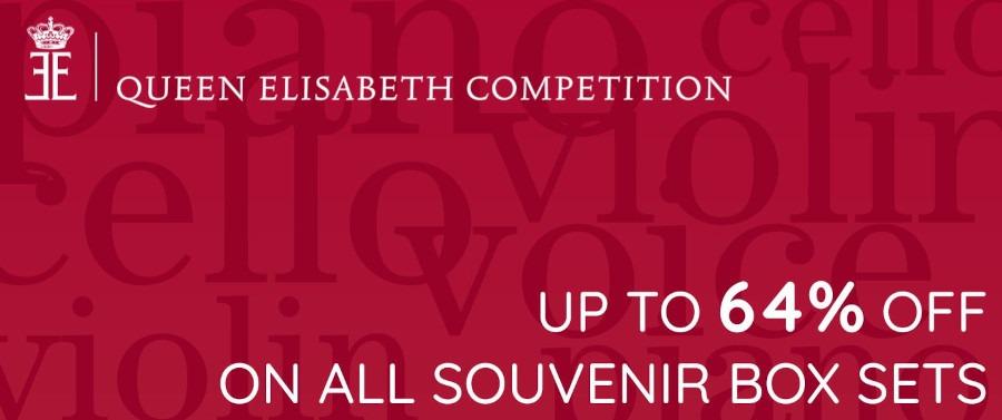 Queen Elisabeth Competition Souvenir Box Sets Promotion