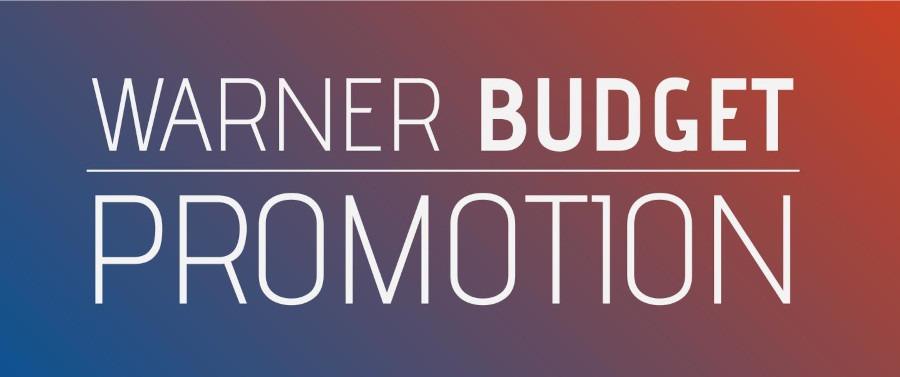 Promotion Warner Budget