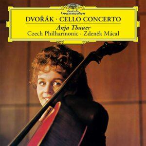 Dvorak: Cello Concerto In B-Minor,  Op. 104 (Vinyl) - Anja Thauer