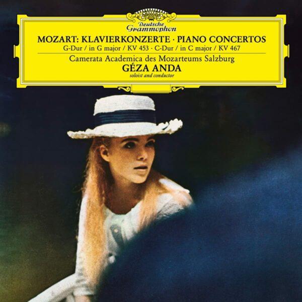 Mozart: Piano Concertos Nos. 17 & 21 (Vinyl) - Geza Anda