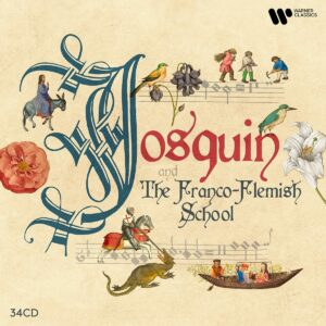 Josquin & the Franco-Flemish School - James Bowman