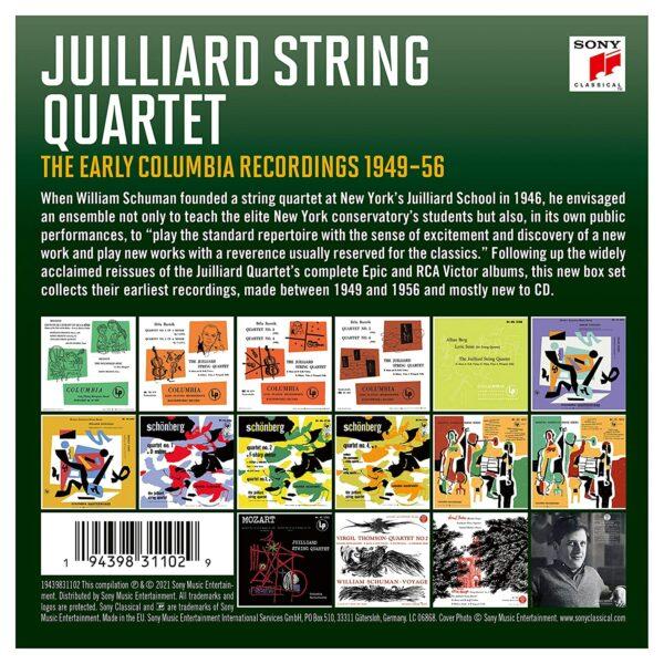 The Early Columbia Recordings 1949-56 - Juilliard String Quartet
