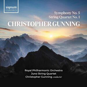 Gunning: Symphony No. 5, String Quartet No. 1 - Royal Philharmonic Orchestra