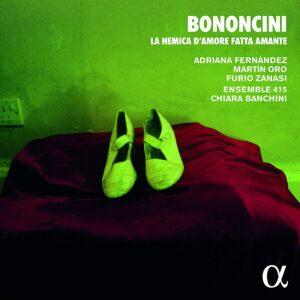 Bononcini: La nemica d'amore fatta amante - Ensemble 415