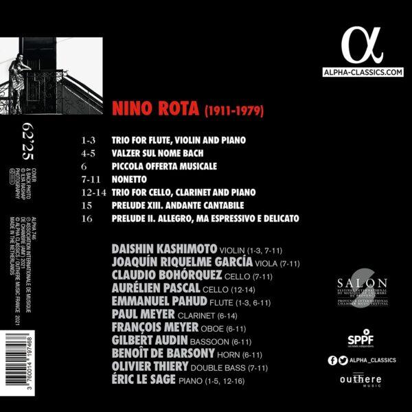 Nino Rota: Chamber Music - Emmanuel Pahud