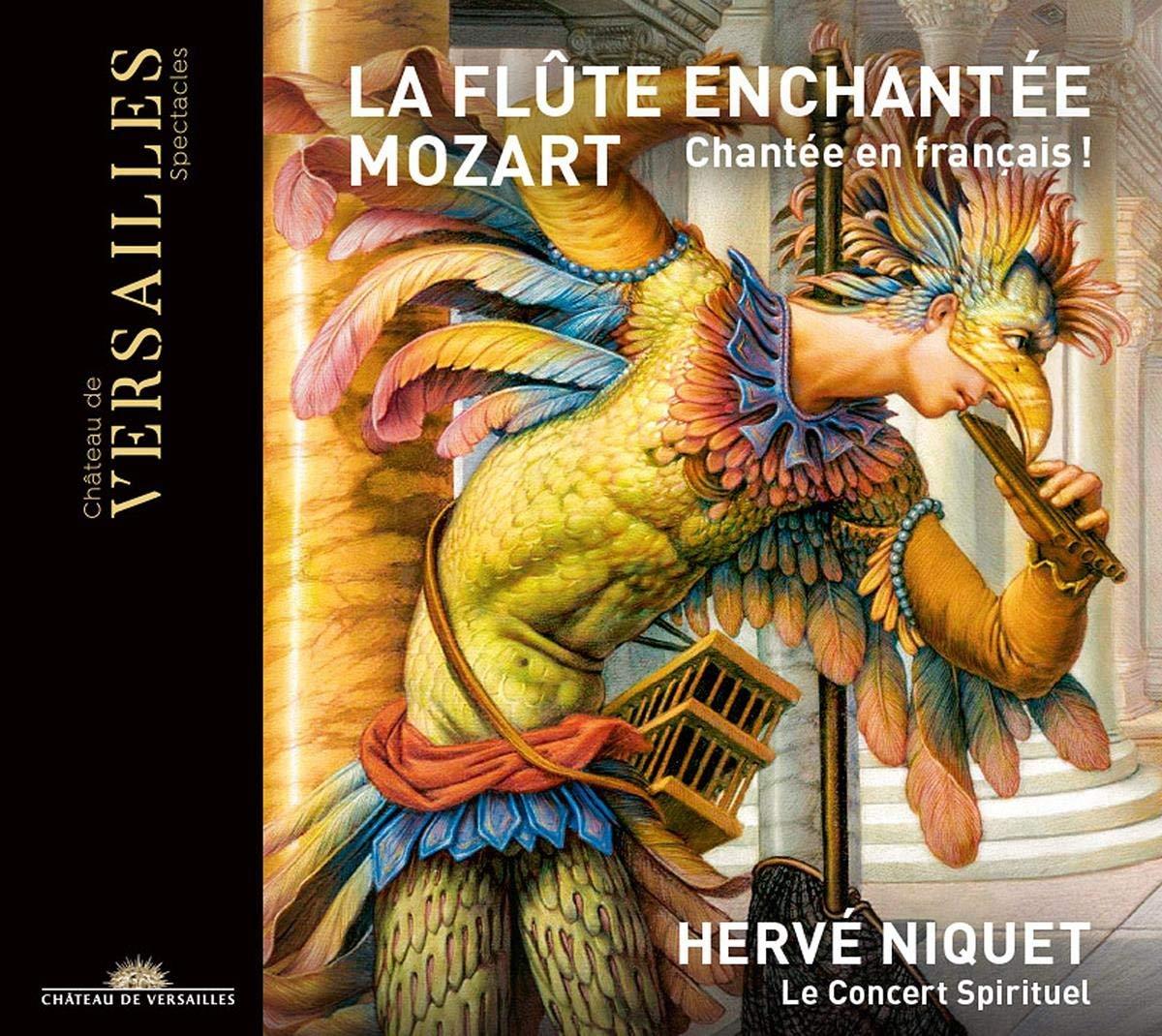 Mozart: La Flute Enchantèe (Chanté en Français) - Hervé Niquet