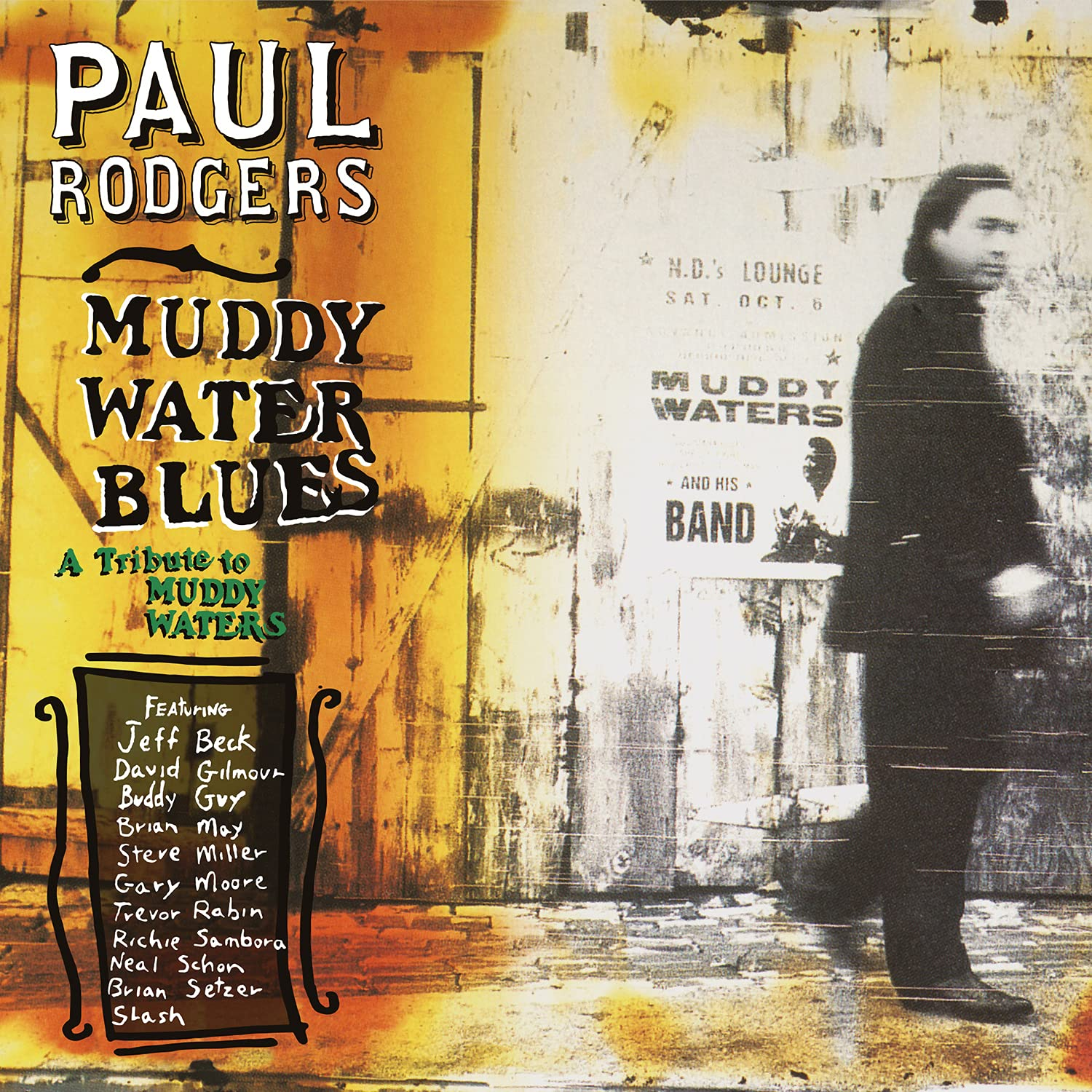 Muddy Water Blues, A Tribute To Muddy Waters (Vinyl) - Paul Rodgers