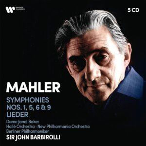 Mahler: Symphonies 1, 5, 6, 9 & Lieder - John Barbirolli