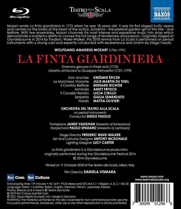Mozart: La Finta Giardiniera - Diego Fasolis