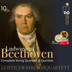 Beethoven: Complete String Quartets & Quintets - Leipziger Streichquartett