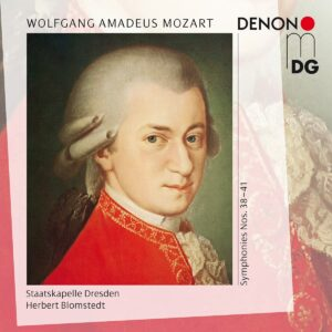 Mozart: Symphonies 38, 39, 40 & 41 - Herbert Blomstedt