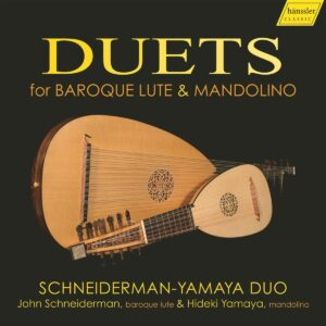 Duets For Baroque Lute & Mandolino - Schneiderman-Yamaya Duo