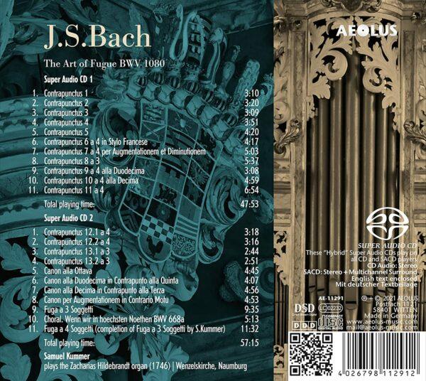 Bach: The Art Of The Fugue - Samuel Kummer