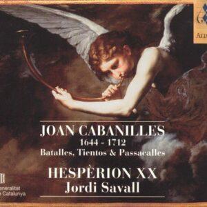 Cabanilles: Batalles, Tientos & Passacalles - Jordi Savall