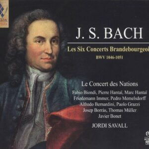 Bach: The Brandenburg Concertos - Jordi Savall