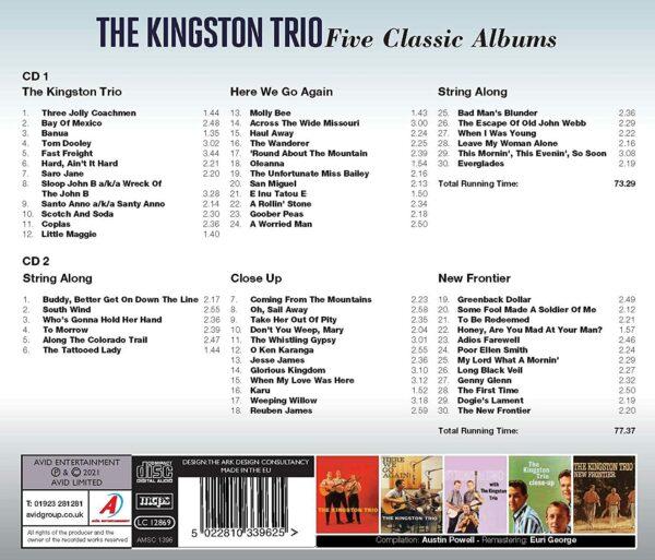 Five Classic Albums - The Kingston Trio