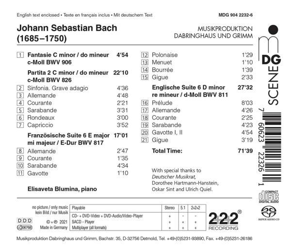 Bach 21 - Elisaveta Blumina