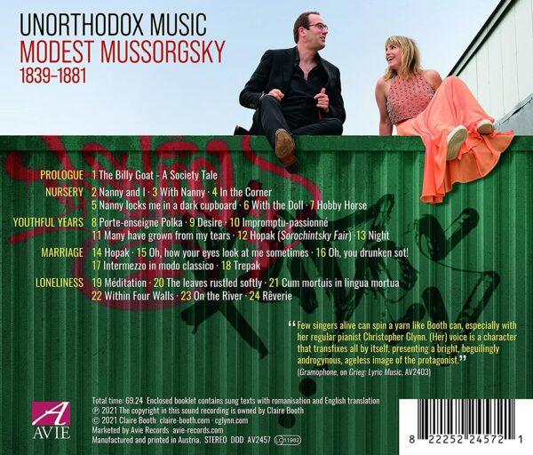 Mussorgsky: Unorthodox Music - Claire Booth