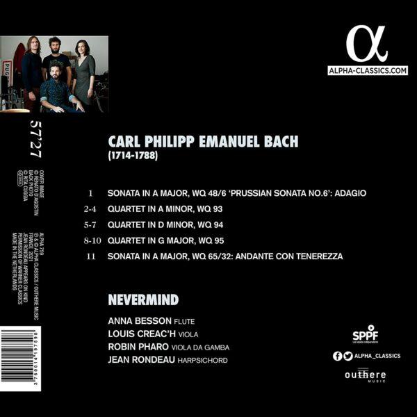 Carl Philipp Emanuel Bach - Nevermind