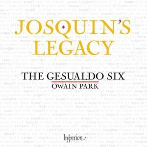 Josquin's Legacy - Gesualdo Six
