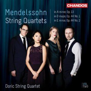 Mendelssohn: String Quartets Vol. 2 - Doric String Quartet