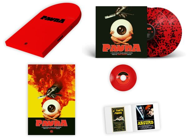 Paura: A Collection Of Italian Horror Sounds From (OST) (Vinyl) - Cam Sugar
