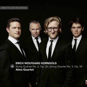 Korngold: String Quartet Nos. 2 & 3 - Alma Quartet