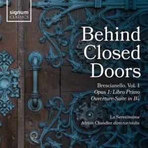 Brescianello: Behind Closed Doors Vol. 1, Opus I: Libro Primo - La Serenissima