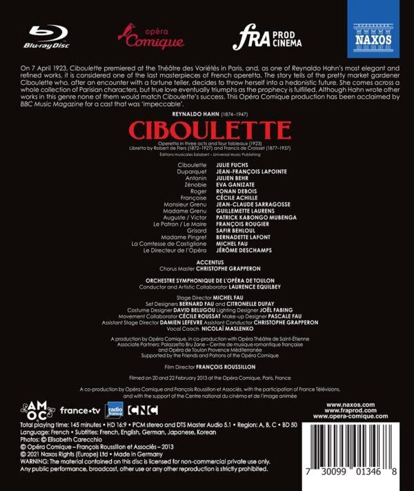 Reynaldo Hahn: Ciboulette - Laurence Equilbey