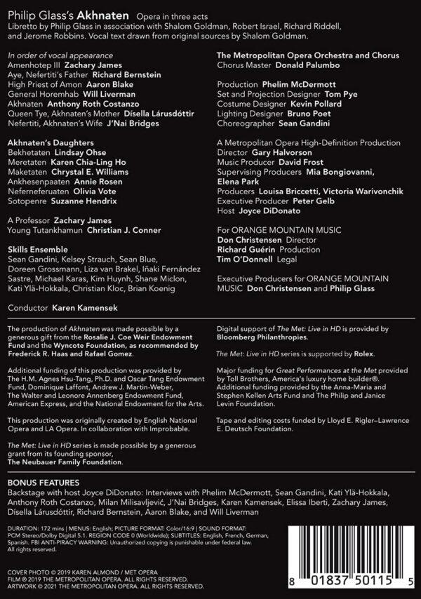 Philip Glass: Akhnaten - Metropolitan Opera - Metropolitan Opera