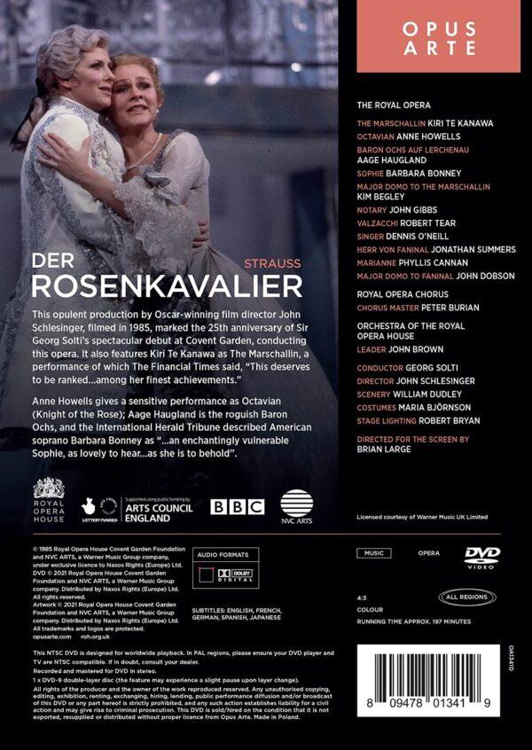 Strauss: Der Rosenkavalier - Georg Solti