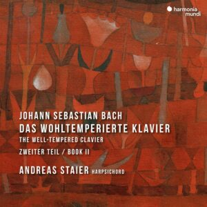 Bach: The Well-Tempered Clavier Book II - Andreas Staier