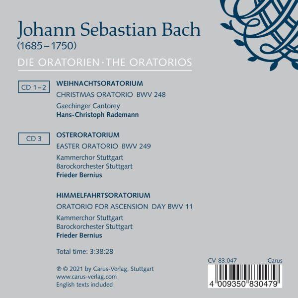 Bach: Die Oratorien, The Oratorios