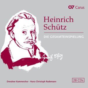 Heinrich Schutz: Complete Carus Edition - Hans-Christoph Rademann