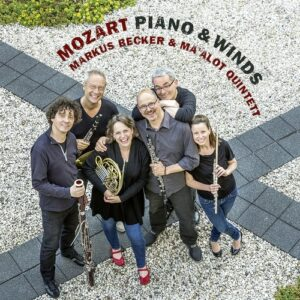Mozart: Piano & Winds - Markus Becker & Ma'alot Quintett