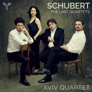 Schubert The Last Quartets, String Quartets Nos.14 & 15 - Aviv Quartet