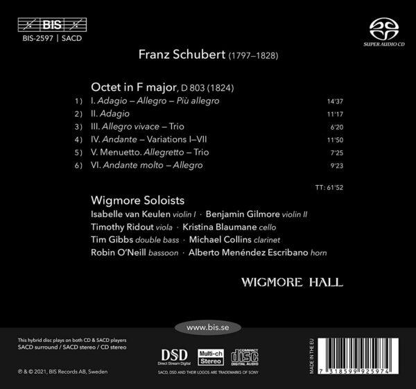 Franz Schubert: Octet In F Major, D803 - Wigmore Soloists