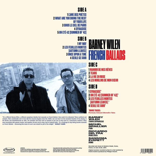 French Ballads (Vinyl) - Barney Wilen