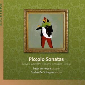 Piccolo Sonatas - Peter Verhoyen